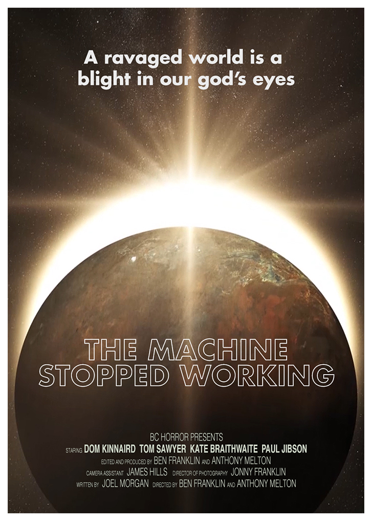The Machine Stopped Working Poster